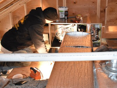 heating cooling contractors Cape Cod Heating Cooling Contractors Maintenance in Attic